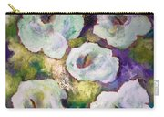 Lily Garden With Shadows And Light Carry-all Pouch