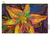 Lily In Abstract Carry-all Pouch