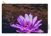 Lily In Pond Carry-all Pouch