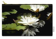 Lily Of The Lake Watercolor Carry-all Pouch