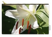 Lily Of White Carry-all Pouch