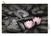 Lily Pad Blossoms Carry-all Pouch