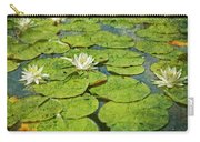 Lily Pad Flowers Carry-all Pouch