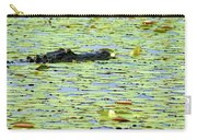Lily Pad Gator Carry-all Pouch