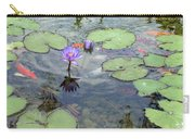 Lily Pads And Koi 1 Carry-all Pouch