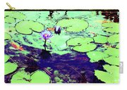 Lily Pads And Koi 2 Carry-all Pouch