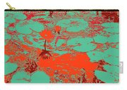 Lily Pads And Koi 35 Carry-all Pouch
