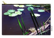 Lily Pads And Reeds Carry-all Pouch