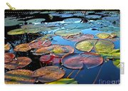 Lily Pads At Sunset Carry-all Pouch