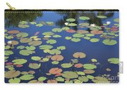 Lily Pads On Blue Pond Carry-all Pouch