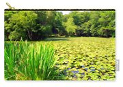 Lily Pond #4 Carry-all Pouch