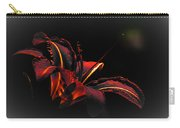 Lily Red-black  Carry-all Pouch