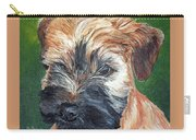 Lily, Soft Coated Wheaten Puppy Carry-all Pouch