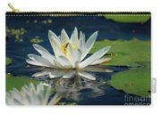 Lily With Bee Carry-all Pouch