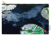Lilypads And Sky Reflections Carry-all Pouch