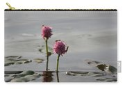 Lilypads And Wasps Carry-all Pouch