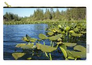 Lilypads On Amber Lake Carry-all Pouch