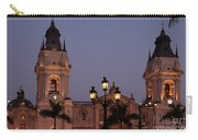 Lima Cathedral Twin Towers One Carry-all Pouch