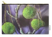 Lime And Violet In Harmony Carry-all Pouch