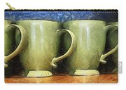 Lime Green Cups Carry-all Pouch