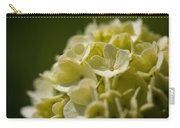 Lime Hydrangea Carry-all Pouch