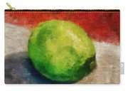 Lime Still Life Carry-all Pouch
