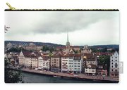 Limmatquai In Zurich Switzerland Carry-all Pouch
