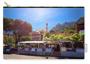 Limone Sul Garda Square And Church View Carry-all Pouch