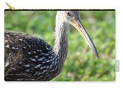 Limpkin Checking For Snails. Carry-all Pouch