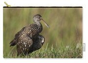 Limpkin Stretching In The Grass Carry-all Pouch