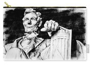 Lincoln Carved Carry-all Pouch