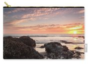 Lincoln City Beach Sunset - Oregon Coast Carry-all Pouch