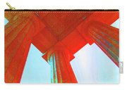 Lincoln Colomn Red Carry-all Pouch