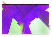 Lincoln Column Purple Carry-all Pouch