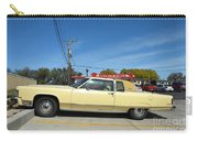 Lincoln Continental At Brint's Diner Carry-all Pouch
