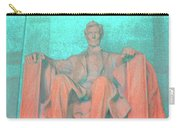 Lincoln In Blue Carry-all Pouch