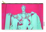 Lincoln In Red Carry-all Pouch