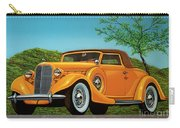 Lincoln K Convertible 1935 Painting Carry-all Pouch