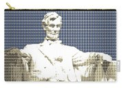 Lincoln Memorial - Dark Blue Carry-all Pouch