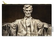 Lincoln Monument Carry-all Pouch
