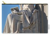 lincoln statue Gettysburg PA Carry-all Pouch