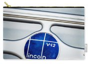 Lincoln V12 Emblem Carry-all Pouch
