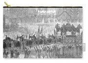 Lincolns Funeral, 1865 Carry-all Pouch