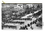 Lincolns Funeral Procession, 1865 Carry-all Pouch by Photo Researchers, Inc.