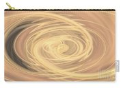 Line Art In Gold And Yellow Carry-all Pouch