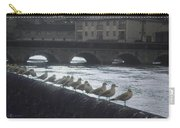 Line Of Birds Carry-all Pouch