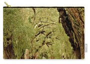 Line Of Oak Trees To Distance Carry-all Pouch