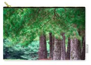 Line Of Pines Carry-all Pouch