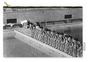 Lineup Of Ncaa Men Swimmers Carry-all Pouch