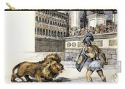 Lion & Gladiator Carry-all Pouch